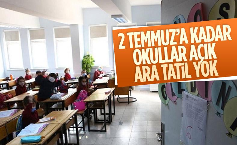 Ziya Selçuk'tan yaz tatili ve ara tatil açıklaması