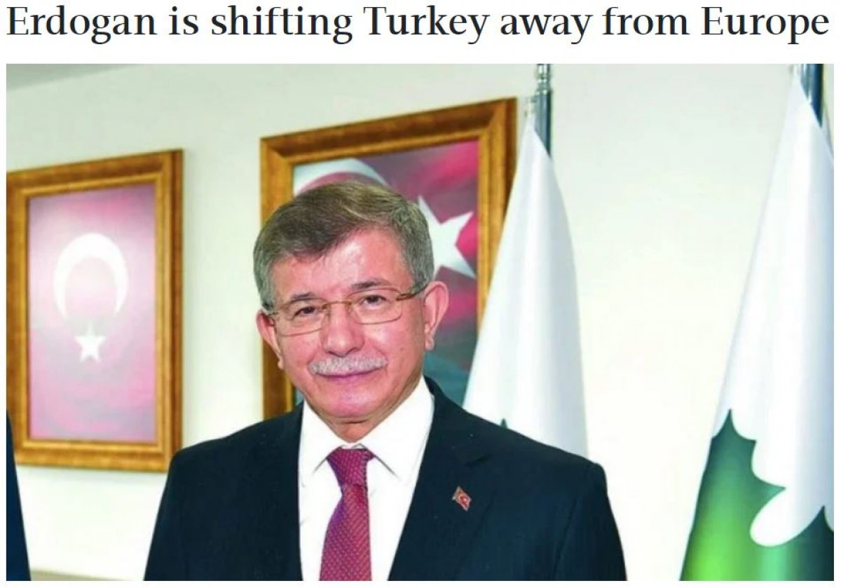 Ahmet Davutoğlu, Türkiye nin dış politikasını Yunan basınına şikayet etti #2