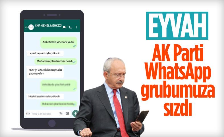CHP, WhatsApp grubundaki köstebeğin peşinde