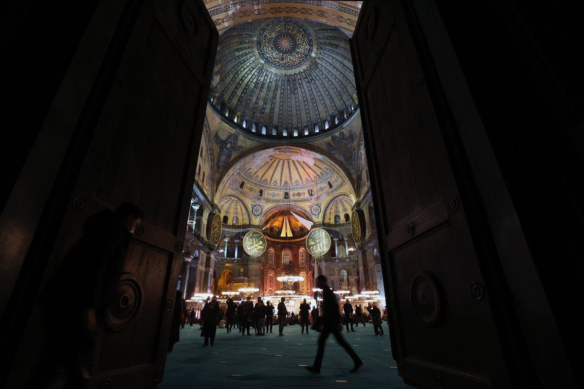 Ayasofya-i Kebir Cami-i Şerifi nde Miraç gecesi idrak edildi #6