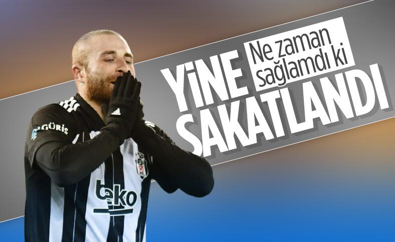 Beşiktaş'ta Gökhan Töre yine sakatlandı