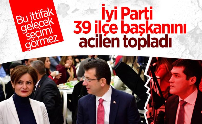 İstanbul'da İyi Parti ile CHP arasında ipler geriliyor
