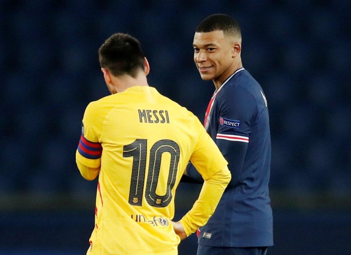 Messi PSG maçında penaltı kaçırdı #2
