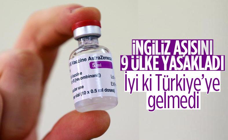9 AB ülkesi, AstraZeneca'nın koronavirüs aşısını askıya aldı
