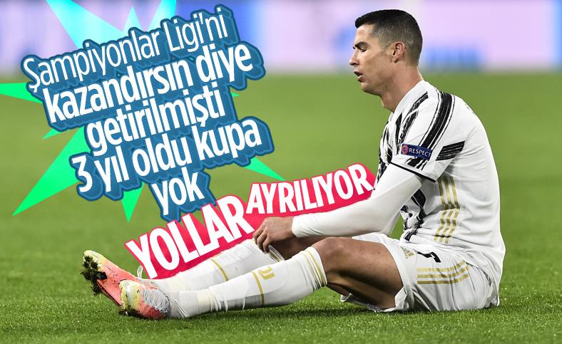 Juventus'ta Ronaldo dönemi kapanıyor