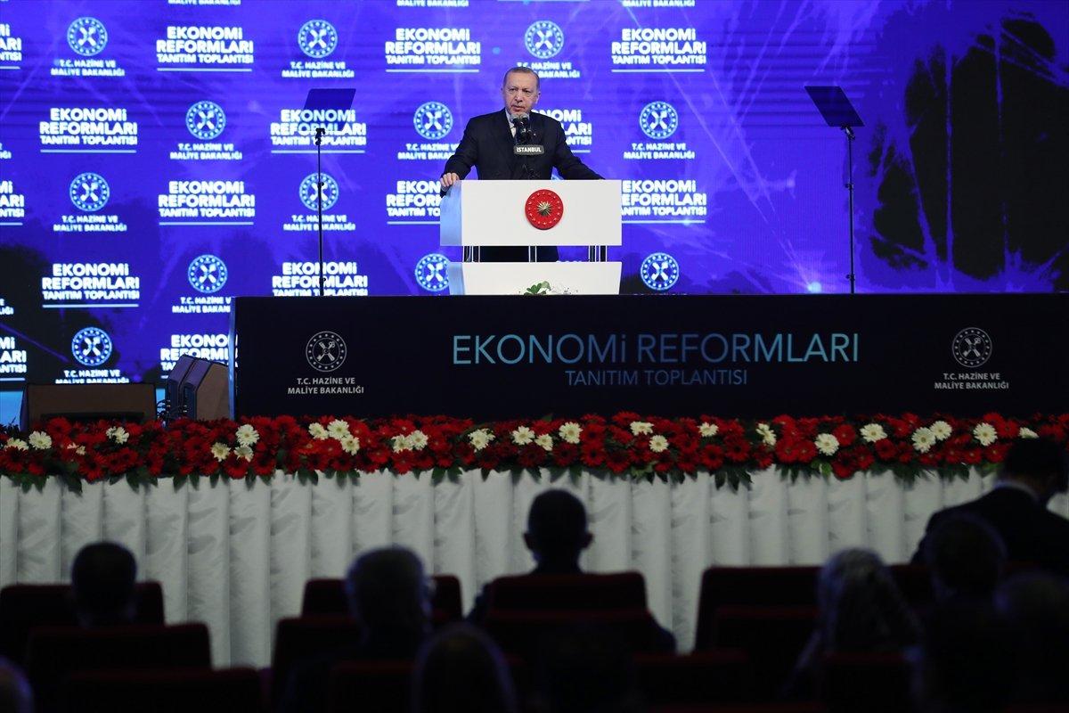 Cumhurbaşkanı Erdoğan ın açıkladığı ekonomi reformu paketi #7