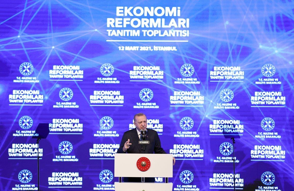Cumhurbaşkanı Erdoğan ın açıkladığı ekonomi reformu paketi #1