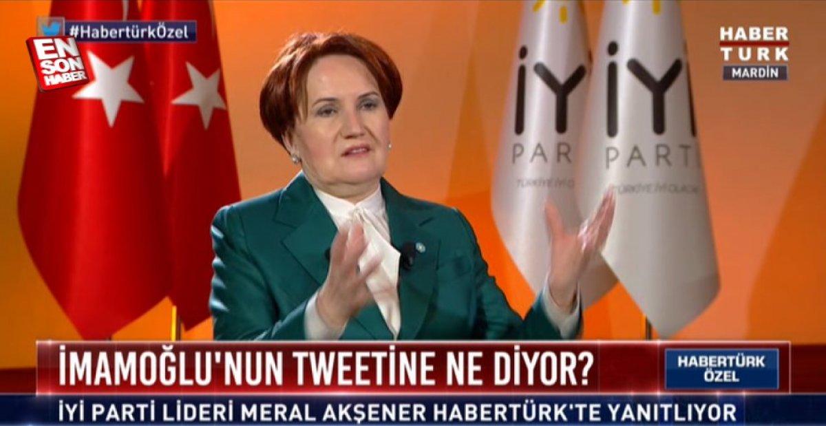 Meral Akşener den kendisine azmettirici diyen Pervin Buldan a yanıt #2