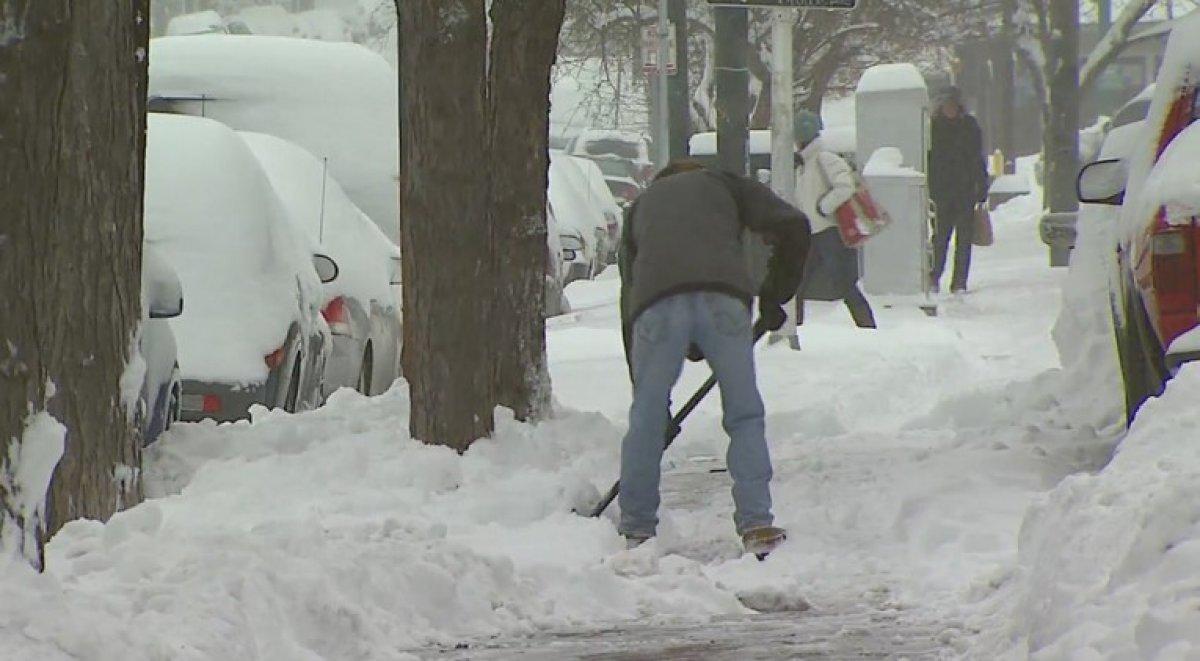 ABD, 3 gün sürecek yeni kar fırtınasına hazırlanıyor #7