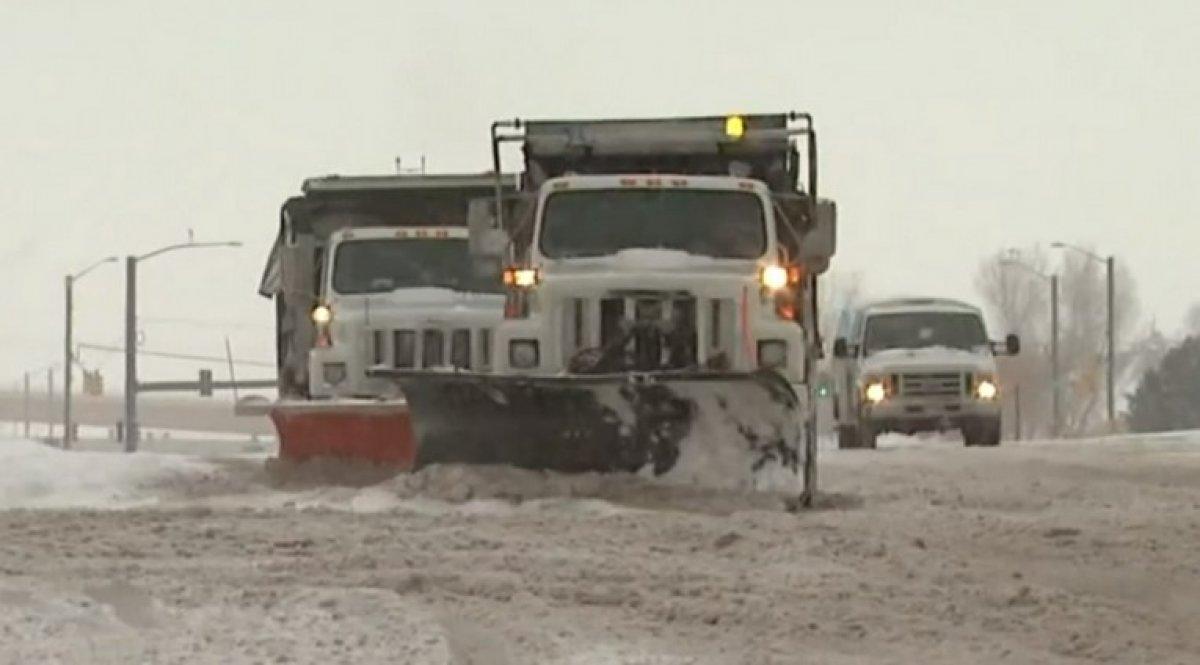 ABD, 3 gün sürecek yeni kar fırtınasına hazırlanıyor #8