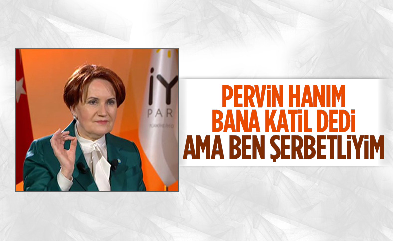 Meral Akşener'den kendisine azmettirici diyen Pervin Buldan'a yanıt