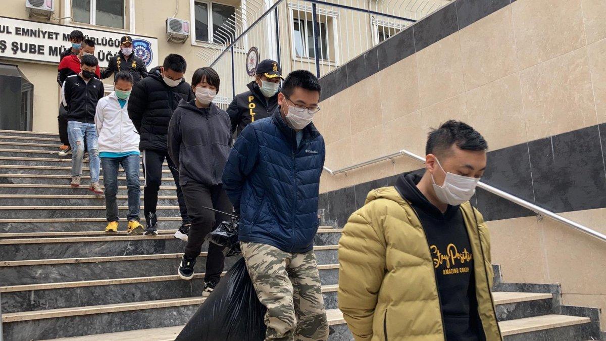 İstanbul da Çinli kripto para çetesine operasyon  #3