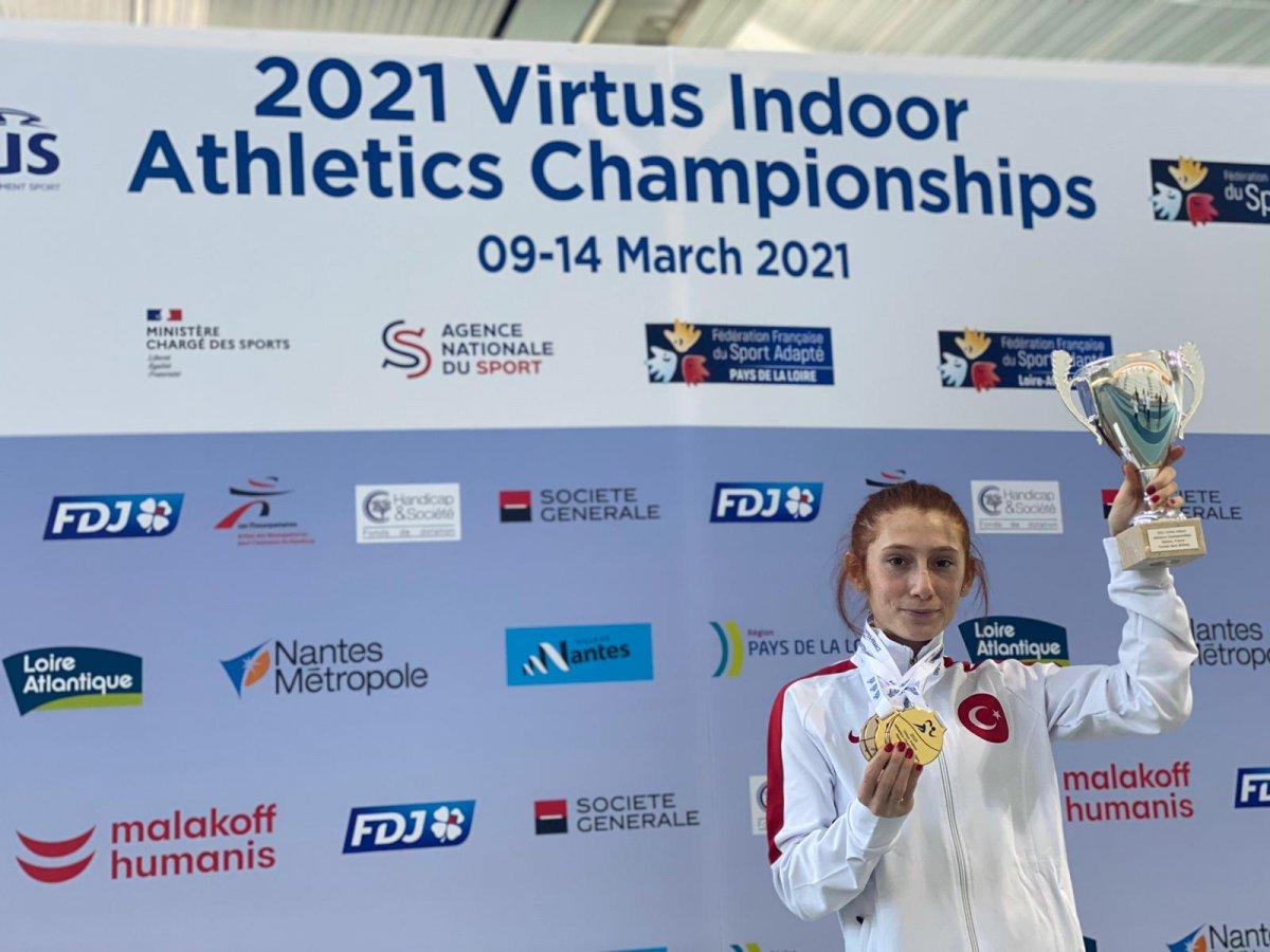 VIRTUS Avrupa Salon Atletizm Şampiyonası nda Türkiye, Avrupa şampiyonu oldu #5