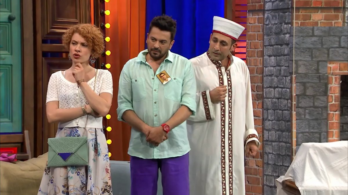Güldür Güldür ün skeci imamları kızdırdı #1