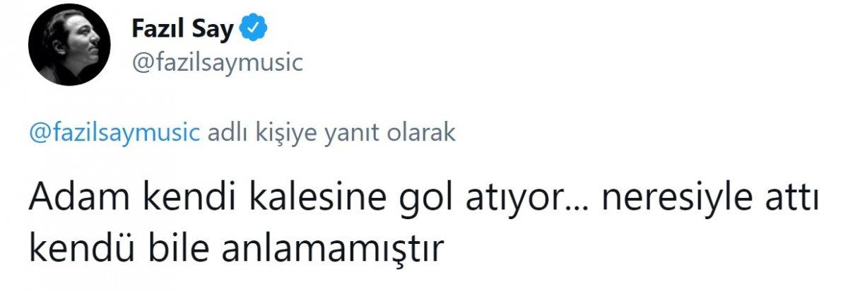 Fazıl Say, Fenerbahçe ye sitem etti #4