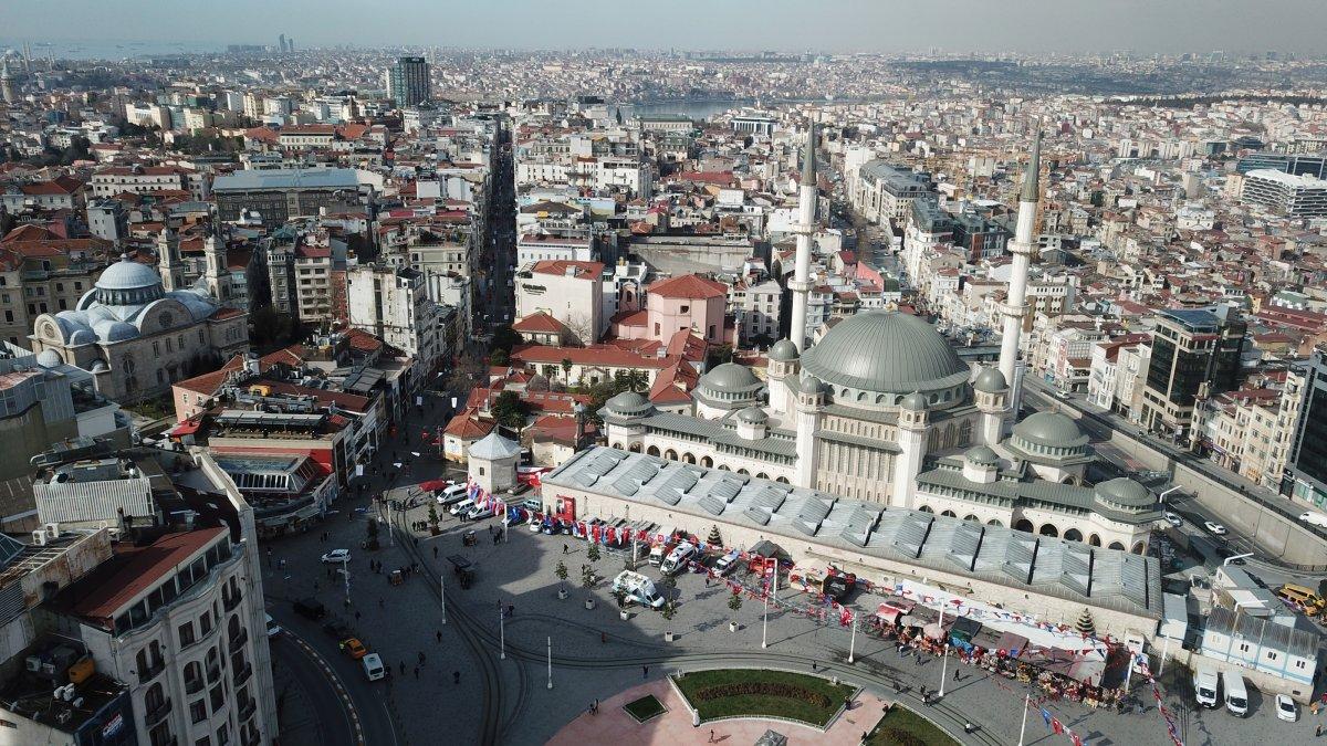 Taksim Camii nde sona gelindi #1
