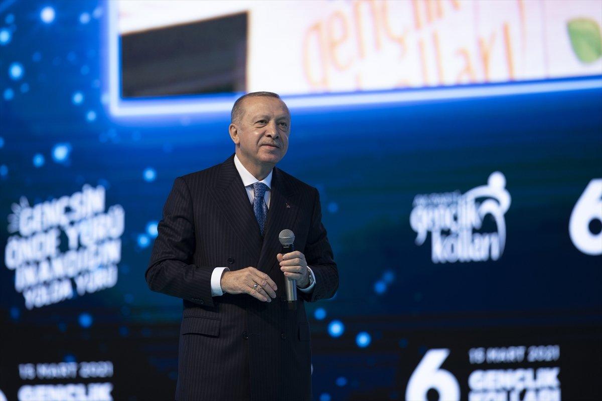 Cumhurbaşkanı Erdoğan: Sizler Asım ın neslisiniz #1