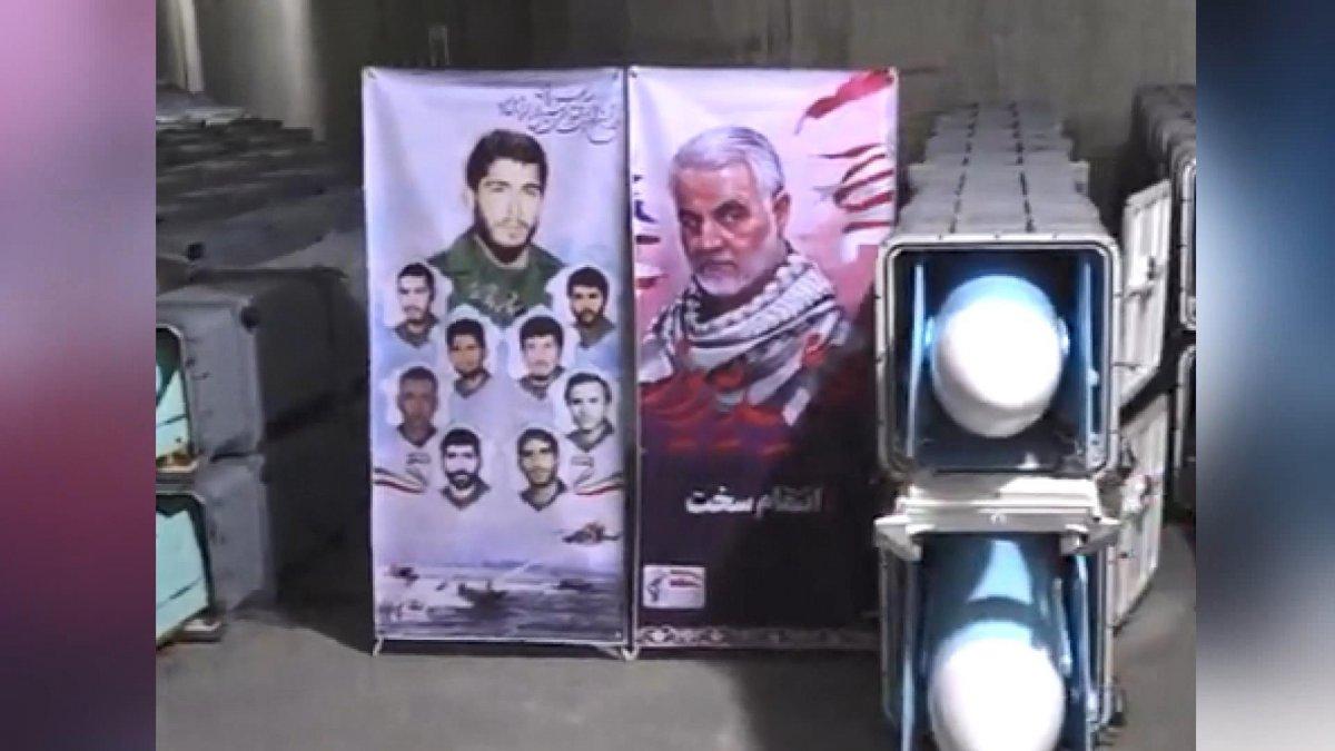 İran, yeni  füze kentinin  tanıtımını yaptı #1