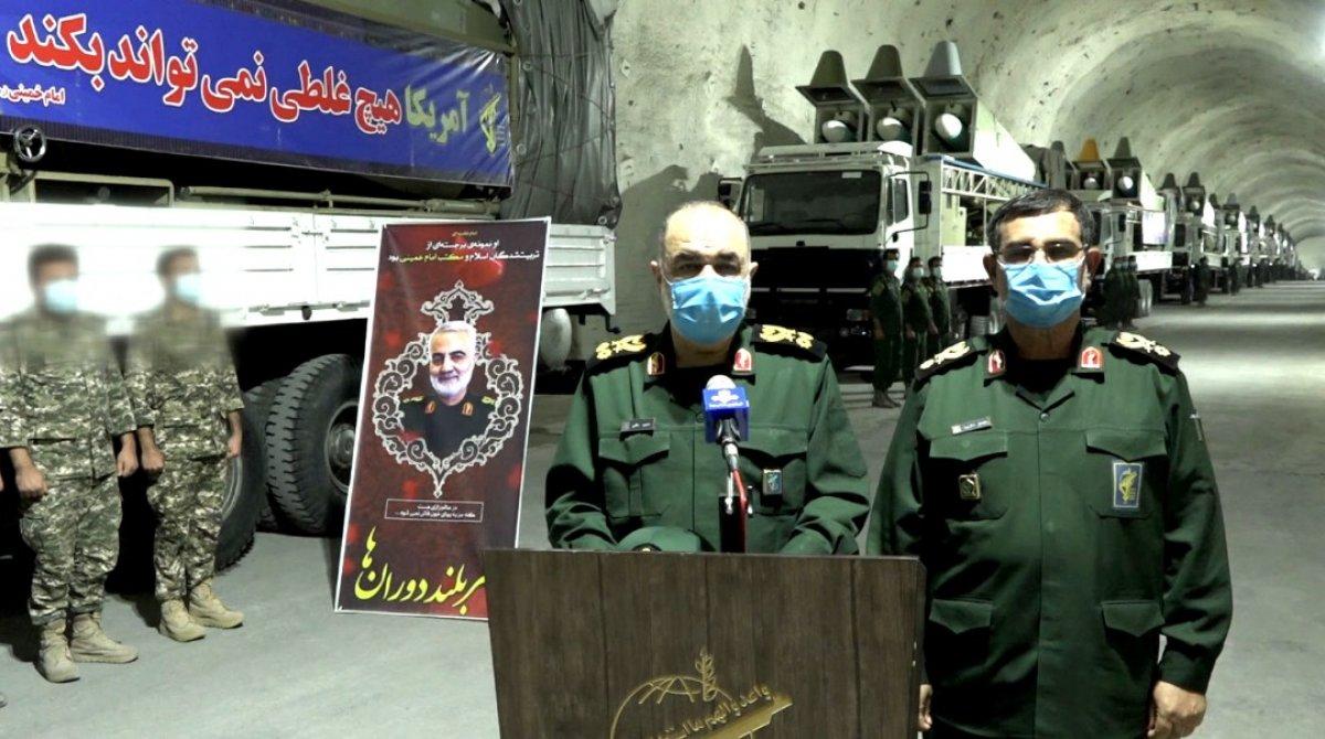 İran, yeni  füze kentinin  tanıtımını yaptı #6