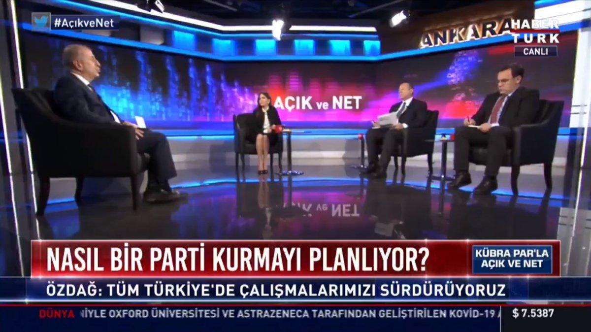 Ümit Özdağ: Türk milliyetçisi bir parti kurmaya hazırlanıyoruz #1