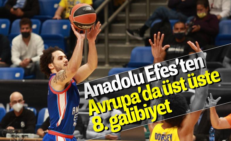 Anadolu Efes EuroLeague'de Maccabi Playtika'yı da devirdi