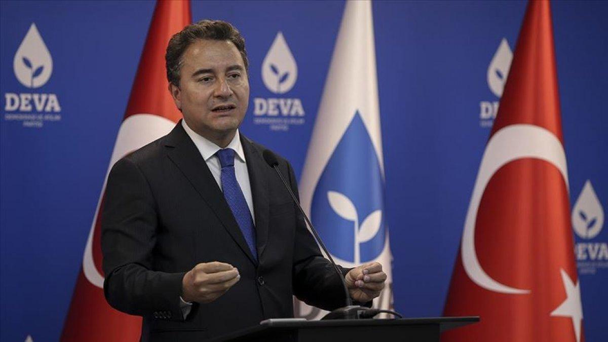 Ali Babacan dan HDP açıklaması #2