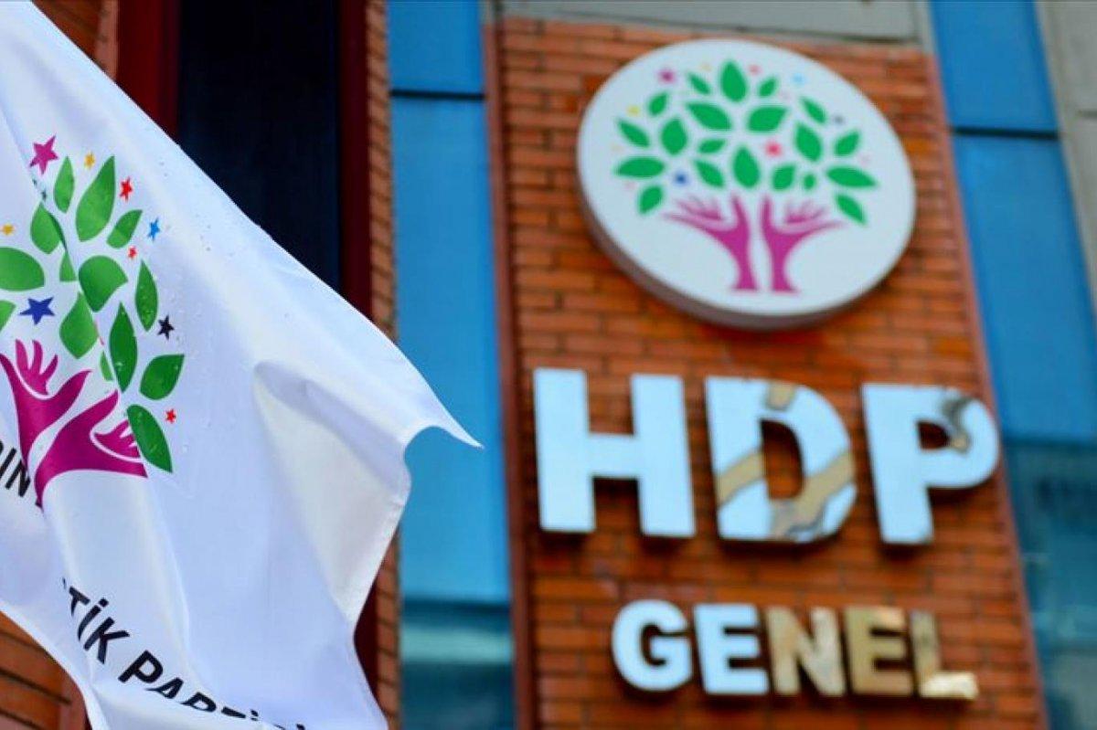 Yargıtay dan HDP ye kapatma davası #2