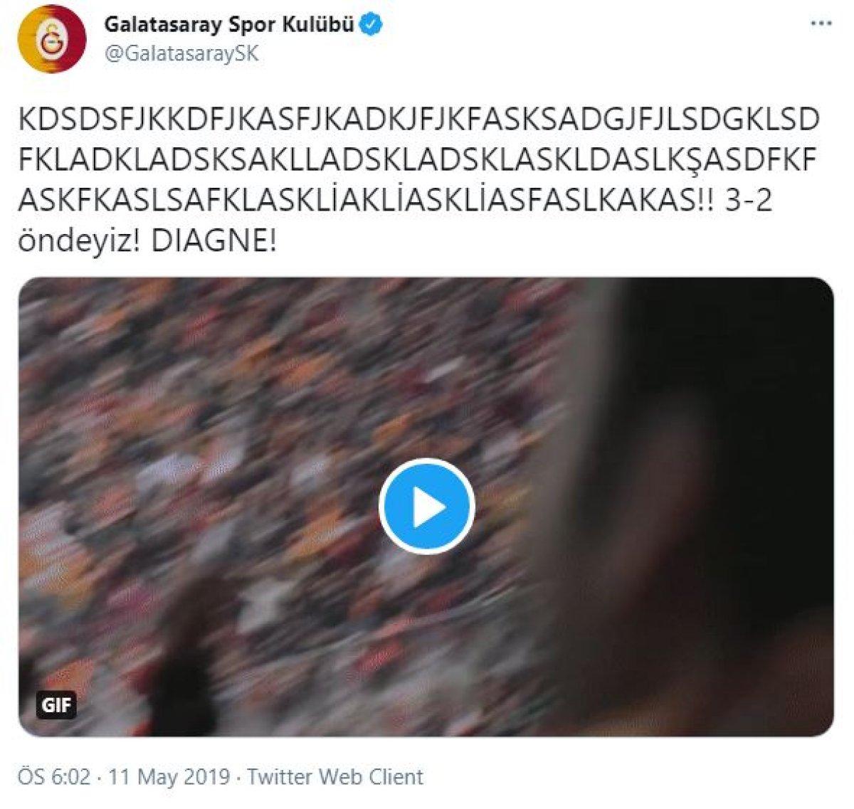 Rizespor dan Galatasaray a maç sonu göndermesi #2