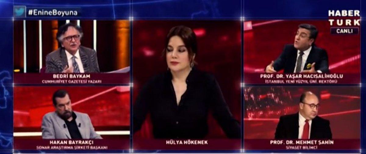 Canlı yayında HDP kavgası #1