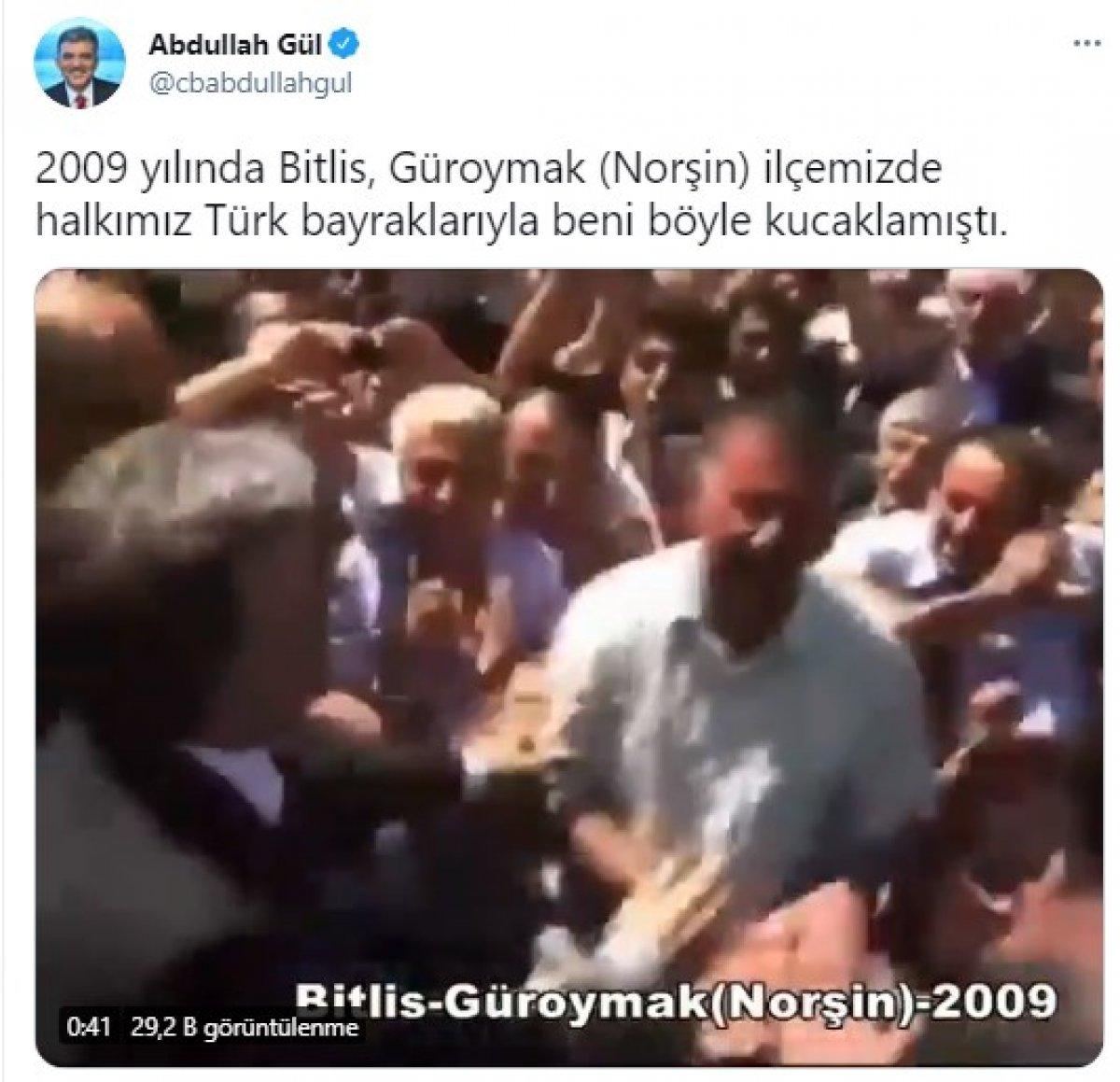 Abdullah Gül den Nevruz paylaşımı  #2
