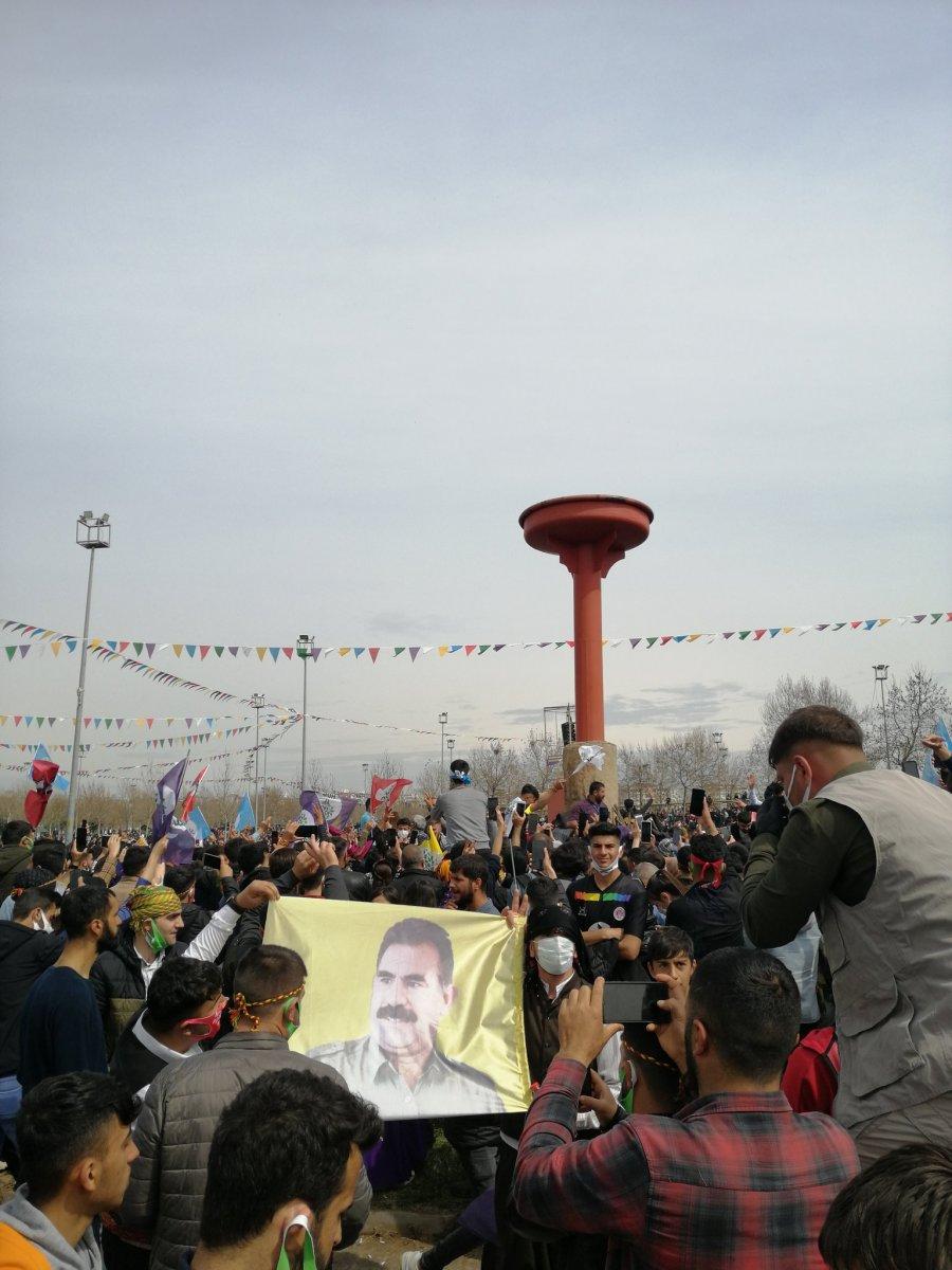 Van da HDP nin organize ettiği nevruz kutlamaları başladı #2