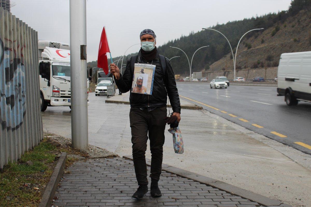 Kardeşi öldürülen ağabeyden, Gaziantep'ten Ankara'ya adalet yürüyüşü #4