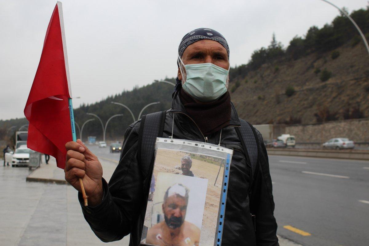 Kardeşi öldürülen ağabeyden, Gaziantep'ten Ankara'ya adalet yürüyüşü #3