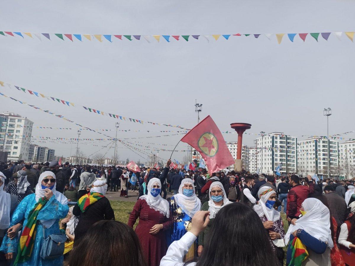 Van da HDP nin organize ettiği nevruz kutlamaları başladı #3