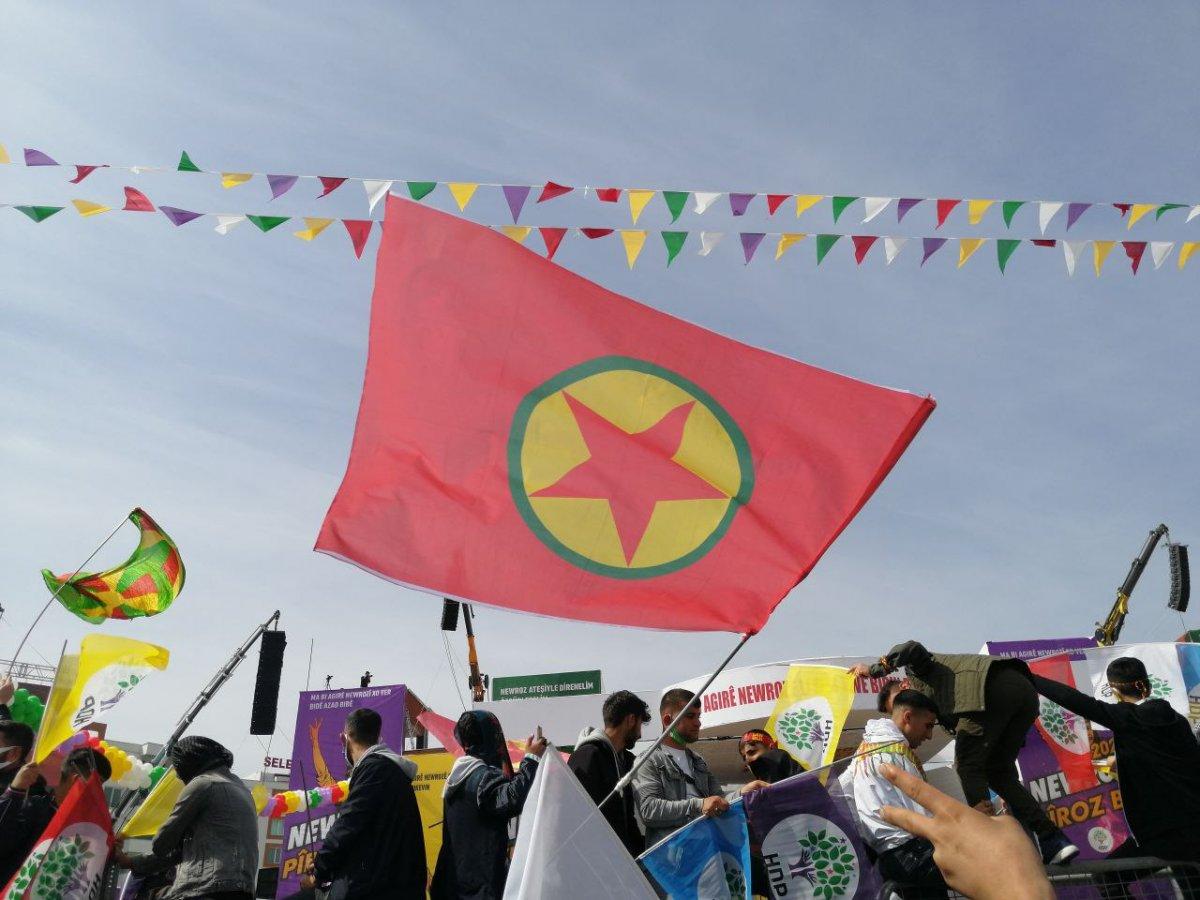 Van da HDP nin organize ettiği nevruz kutlamaları başladı #1