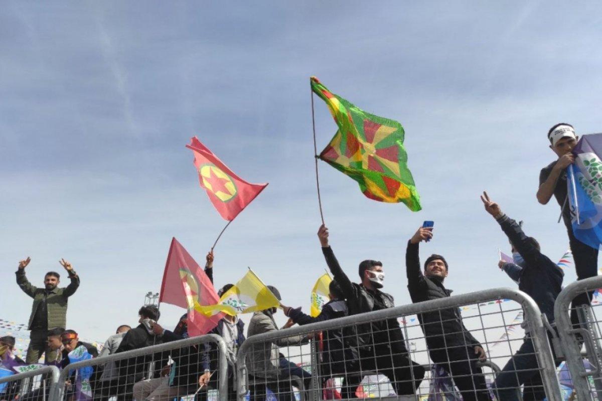 Van da HDP nin organize ettiği nevruz kutlamaları başladı #4