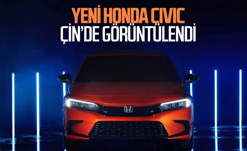Adım adım yaklaşıyor: Yeni Honda Civic bir kez daha görüntülendi
