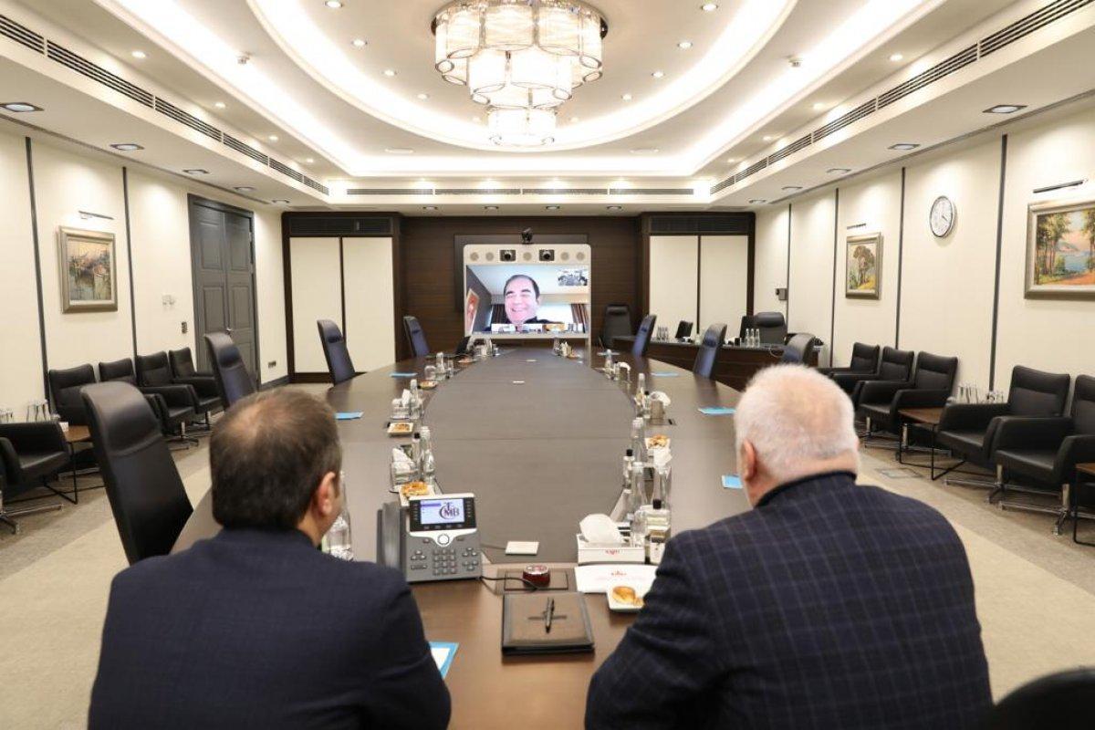 Merkez Bankası nın yeni Başkanı Şahap Kavcıoğlu bankacılarla görüştü #1