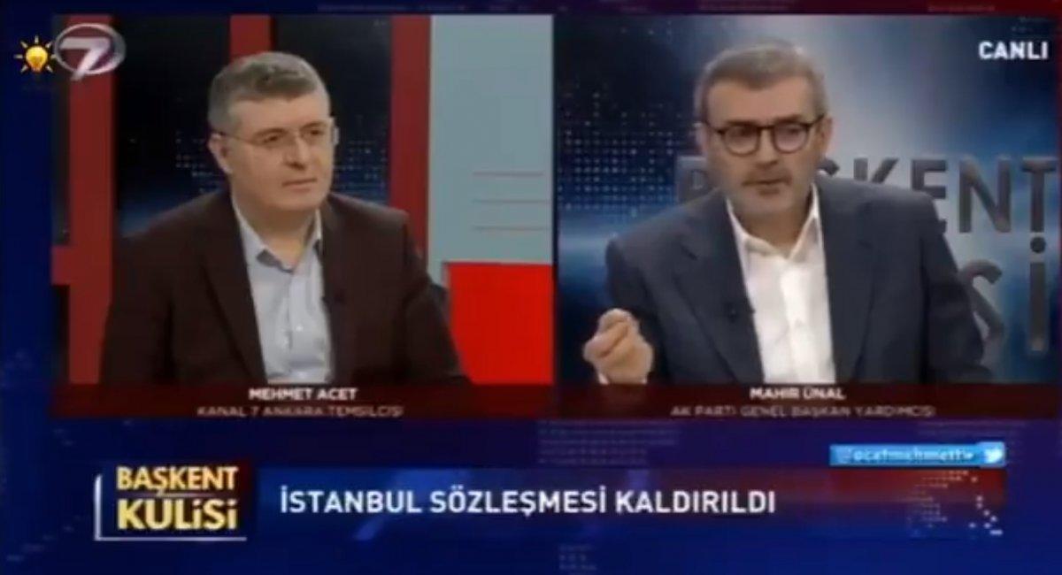 Mahir Ünal Türkiye nin İstanbul Sözleşmesi nden çekilmesini değerlendirdi #2
