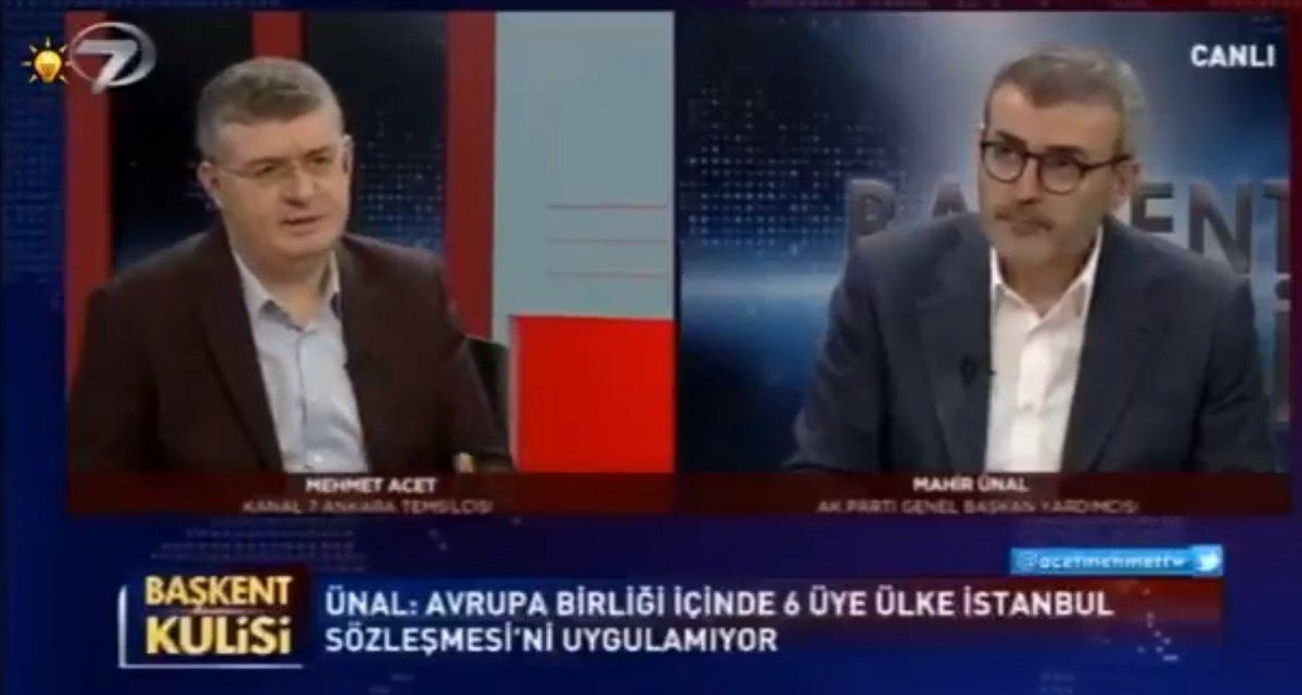 Mahir Ünal Türkiye nin İstanbul Sözleşmesi nden çekilmesini değerlendirdi #1