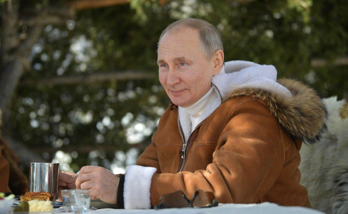 Putin, hafta sonu tatilinde Savunma Bakanı ile Sibirya'da #2
