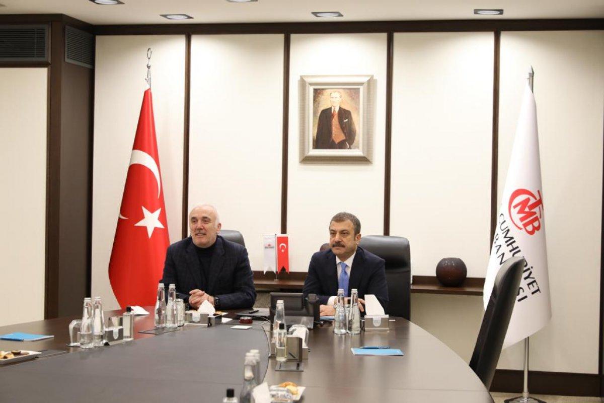 Merkez Bankası nın yeni Başkanı Şahap Kavcıoğlu bankacılarla görüştü #2