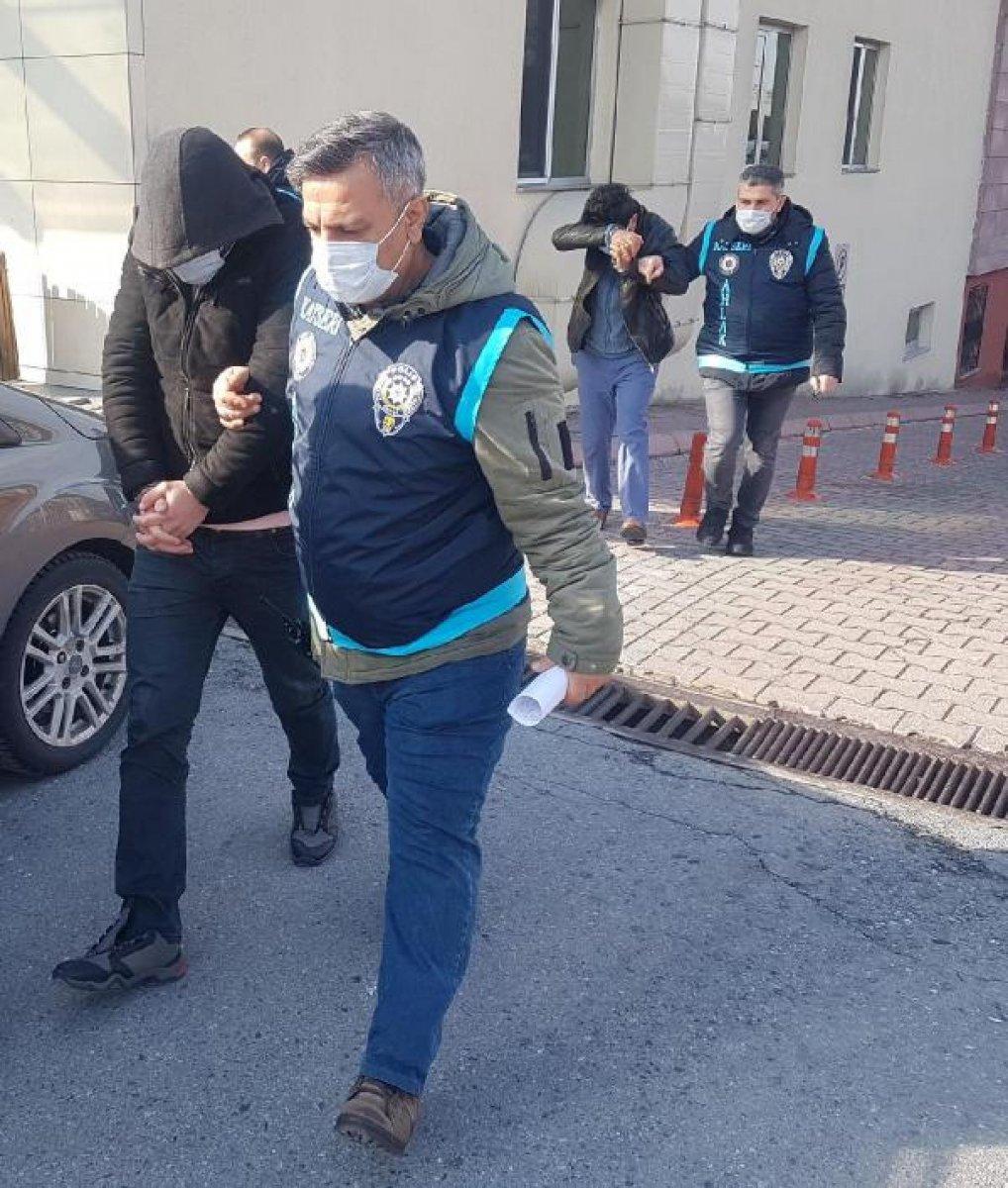 Kayseri'de fuhuş çetesi lideri tutuklandı #1
