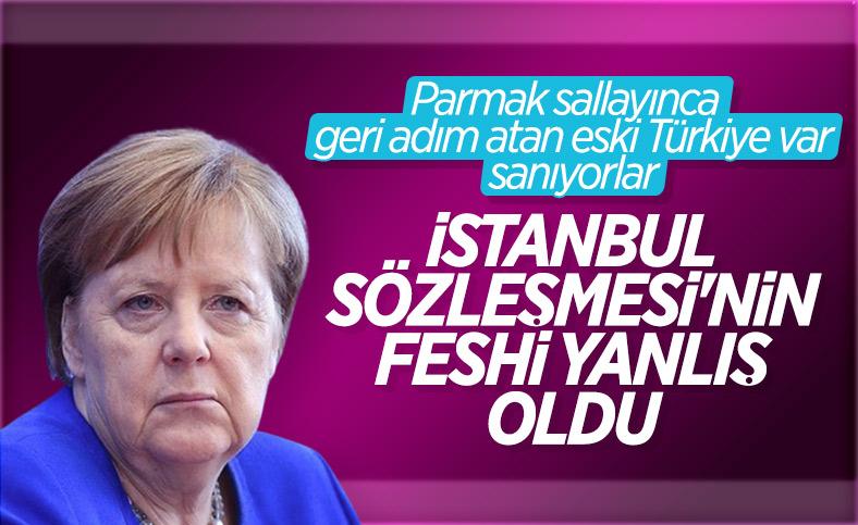 Almanya, Türkiye'nin İstanbul Sözleşmesi'nden çekilmesini değerlendirdi