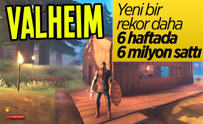Valheim, 6 hafta içinde 6 milyon kopya satmayı başardı