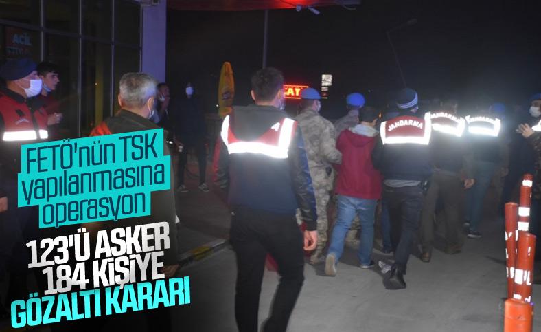 İzmir merkezli 53 ilde FETÖ operasyonu: 184 gözaltı kararı
