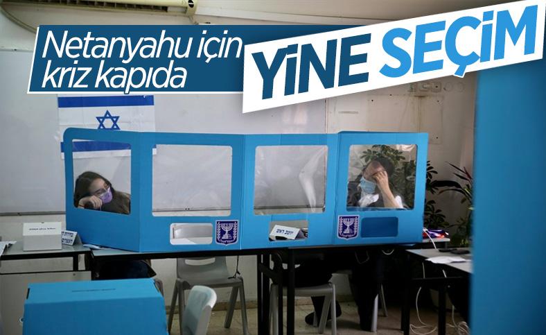 İsrail'de halk, 2 yıl içinde dördüncü kez sandık başında