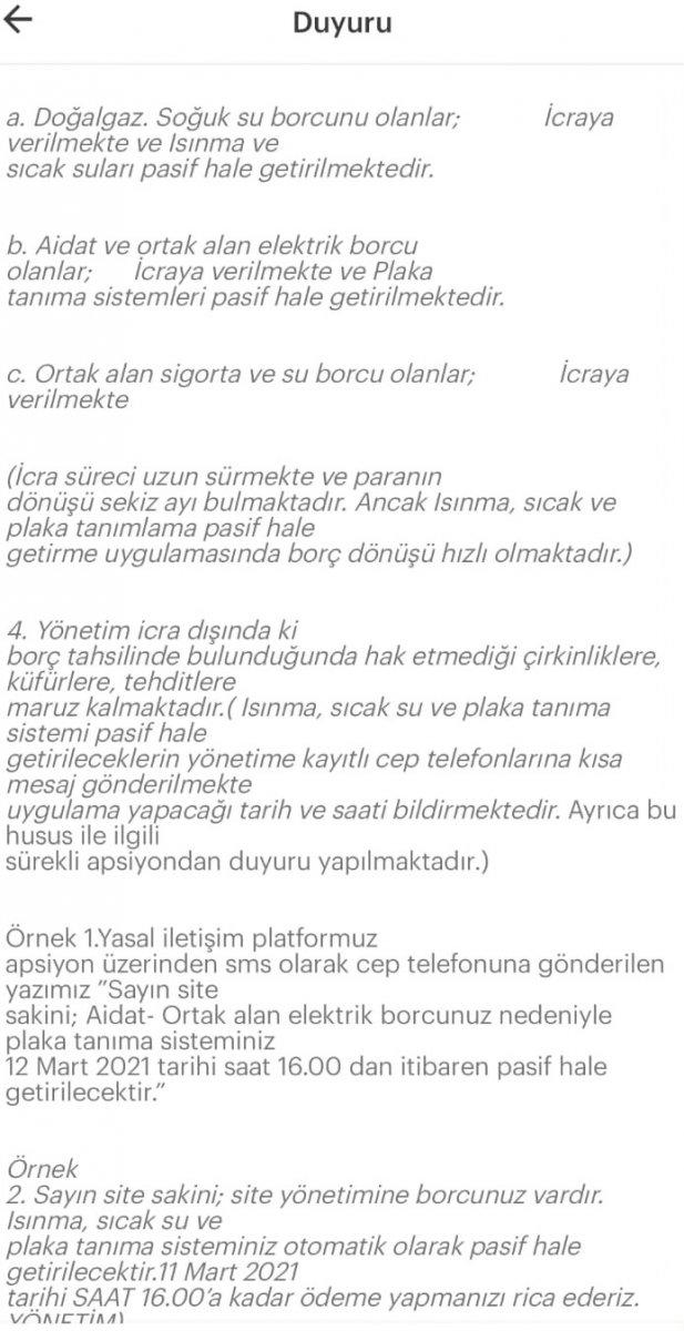 Tuzla da lüks site sakinlerine ceza yağıyor #7