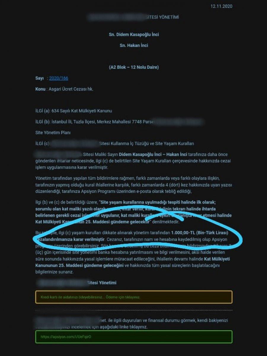 Tuzla da lüks site sakinlerine ceza yağıyor #5