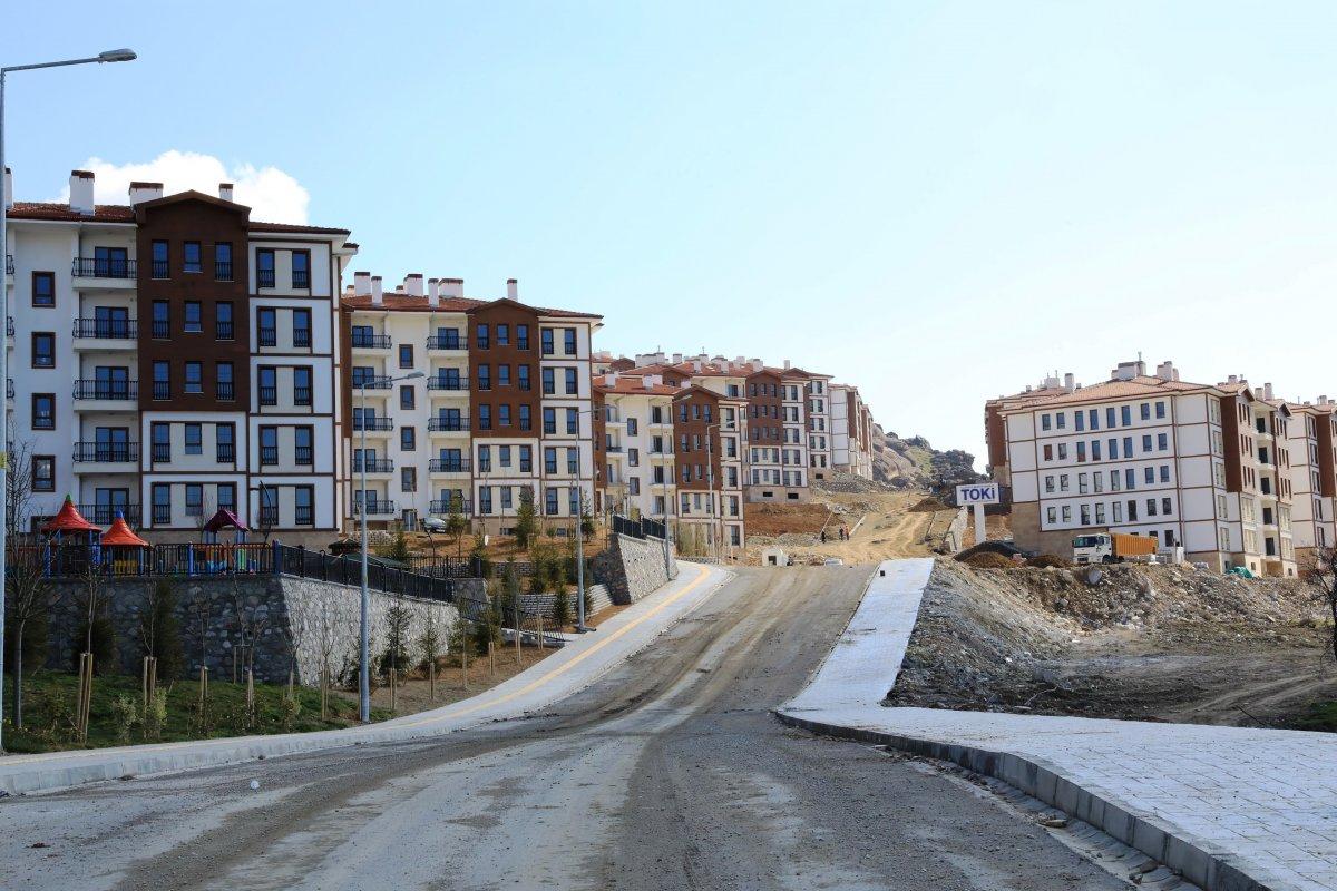 Malatya'da depremzedeler için yapılan konutlar teslim aşamasına geldi #8